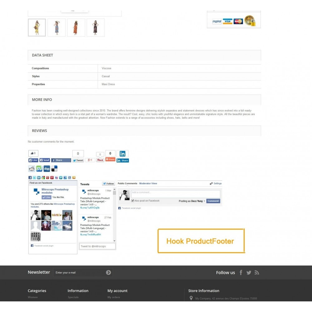 module - Share Buttons & Comments - Social Constructor (Share and Follow) - 10