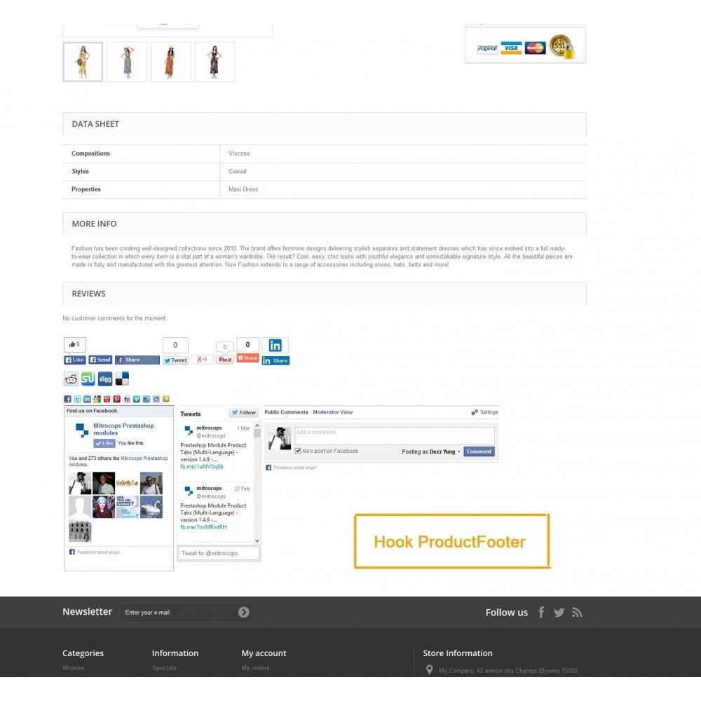 module - Deelknoppen & Commentaren - Social Constructor (Share and Follow) - 10