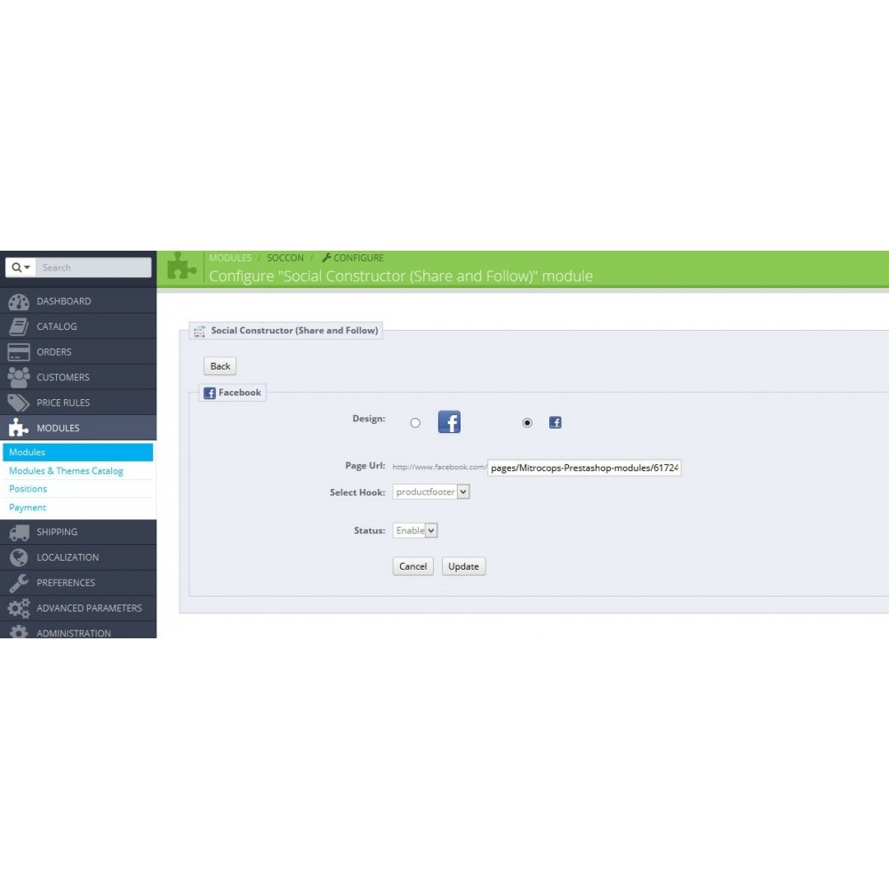 module - Share Buttons & Comments - Social Constructor (Share and Follow) - 23