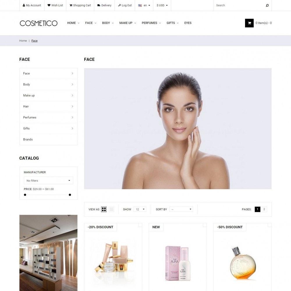 theme - Здоровье и красота - Cosmetico - Магазин Косметики - 2