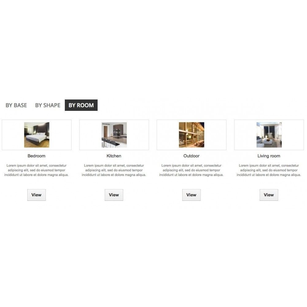 module - Products on Homepage - Froggy Home Categories - 5