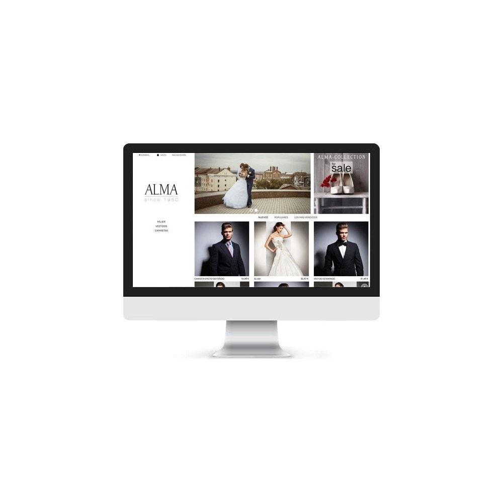 theme - Alimentos & Restaurantes - ALMA White, Black & Cristal - 3