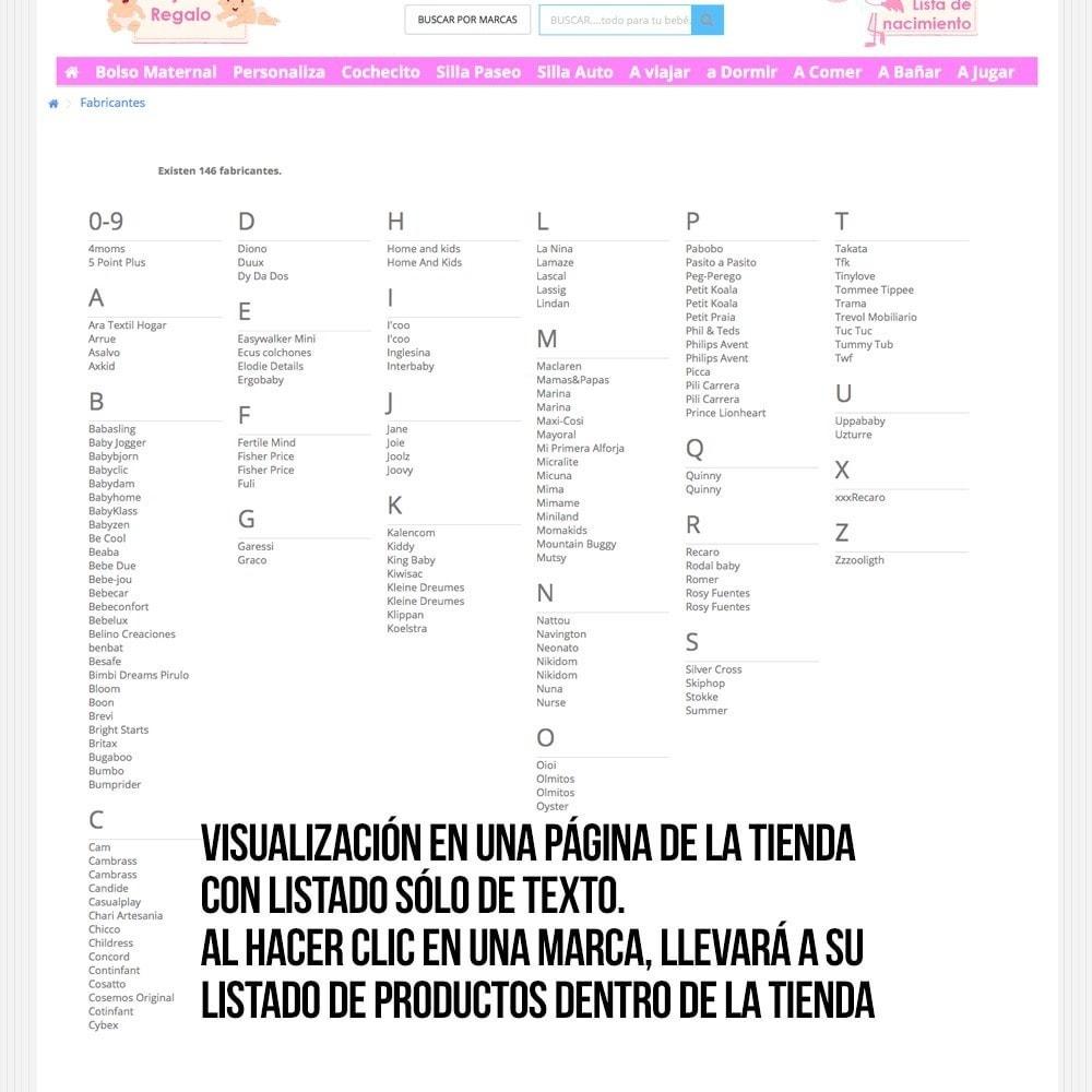 module - Búsquedas y Filtros - Buscador alfabético de fabricantes o proveedores - 11