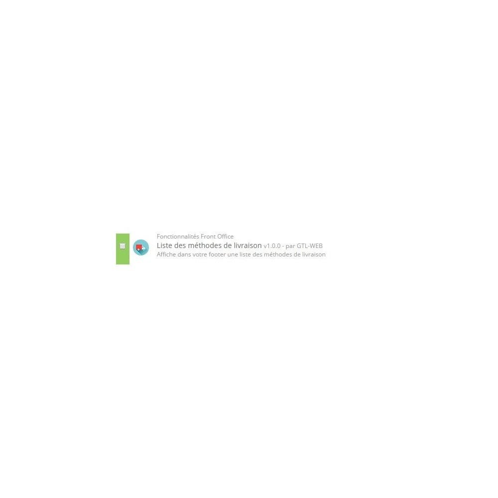 module - Etiquettes & Logos - Logos des modes de livraisons - 2