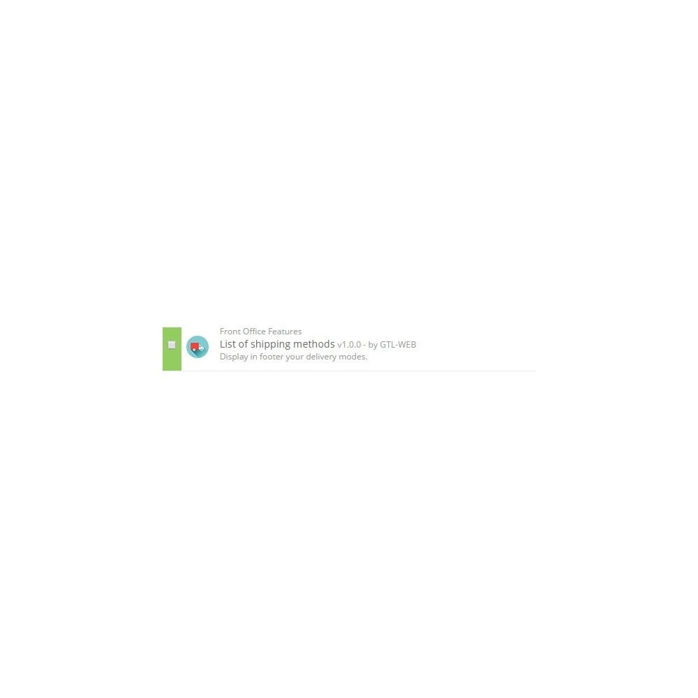 module - Badges & Logos - Logos des modes de livraisons - 2