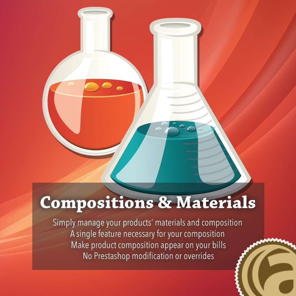 module - Combinaciones y Personalización de productos - Compositions and materials - 1