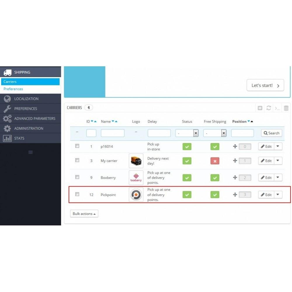 module - Пункты выдачи и Получение в магазине - Доставка с помощью PickPoint - 6