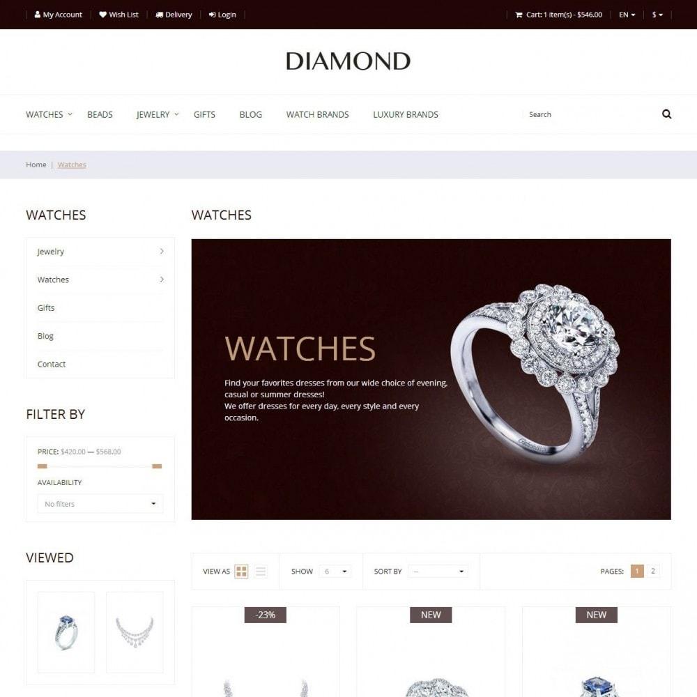 theme - Jewelry & Accessories - Diamond - Jewelry Store - 3