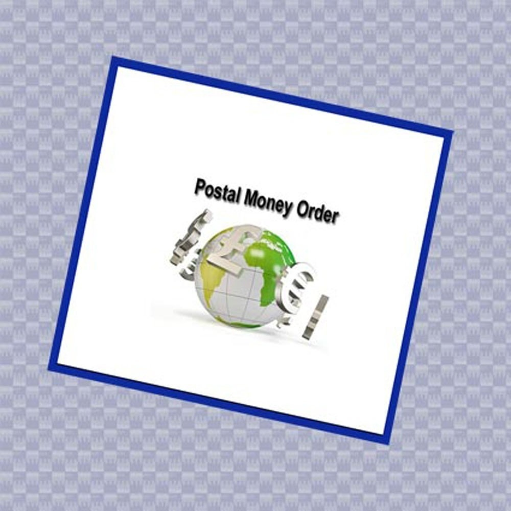 module - Bank Transfer Payment - Postal money order payment - 1