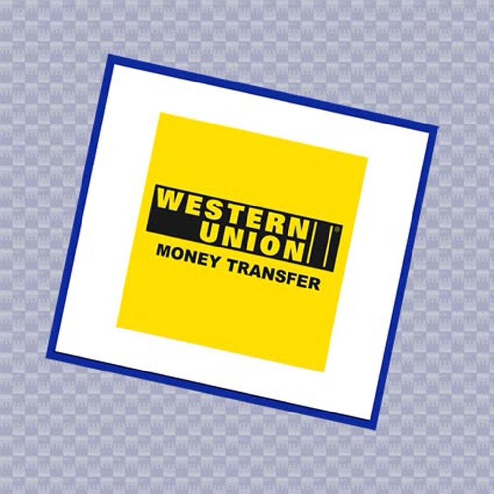 module - Otros métodos de pago - Pagos por Western Union - 1