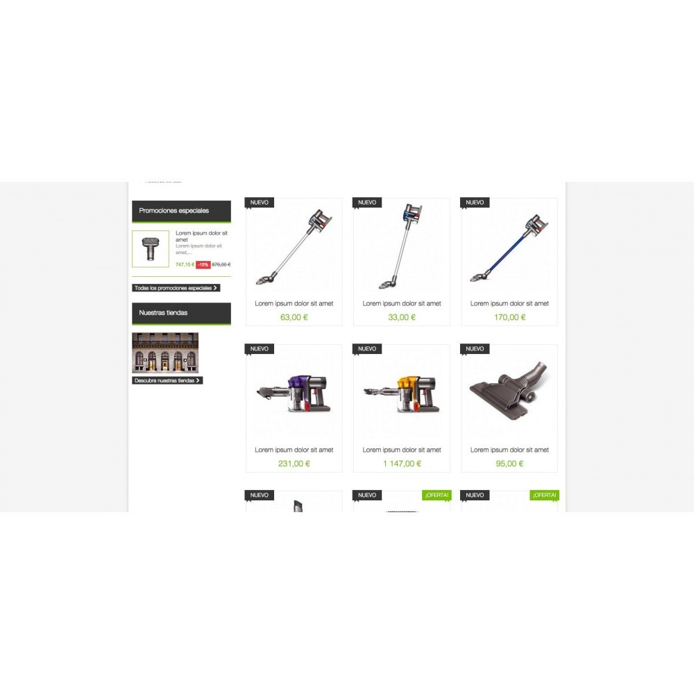 theme - Electrónica e High Tech - Aspirator Shop - 3