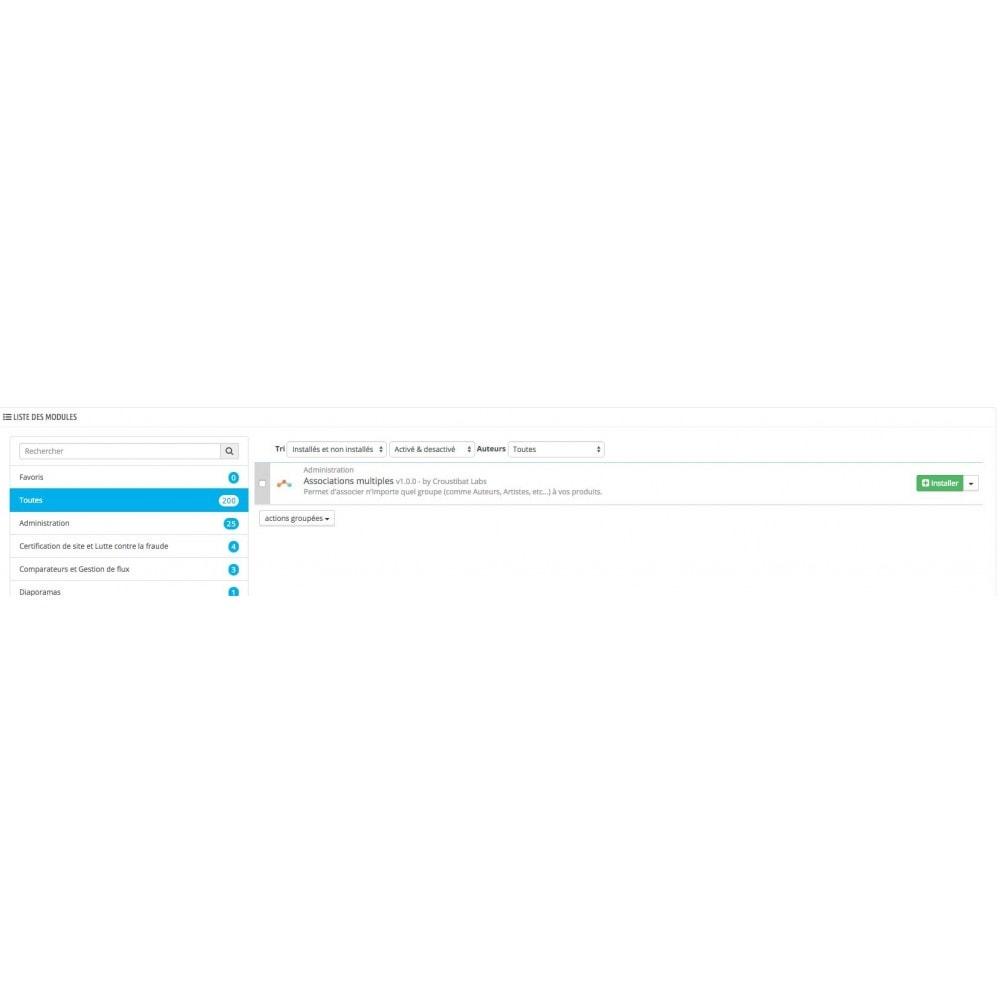 module - Marques & Fabricants - Taxonomie Personnalisée - 3