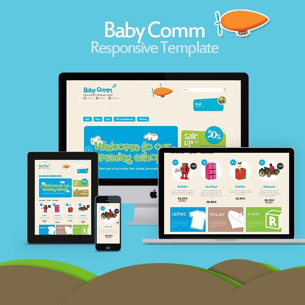 theme - Дети и Игрушки - Baby Comm Responsive - 1