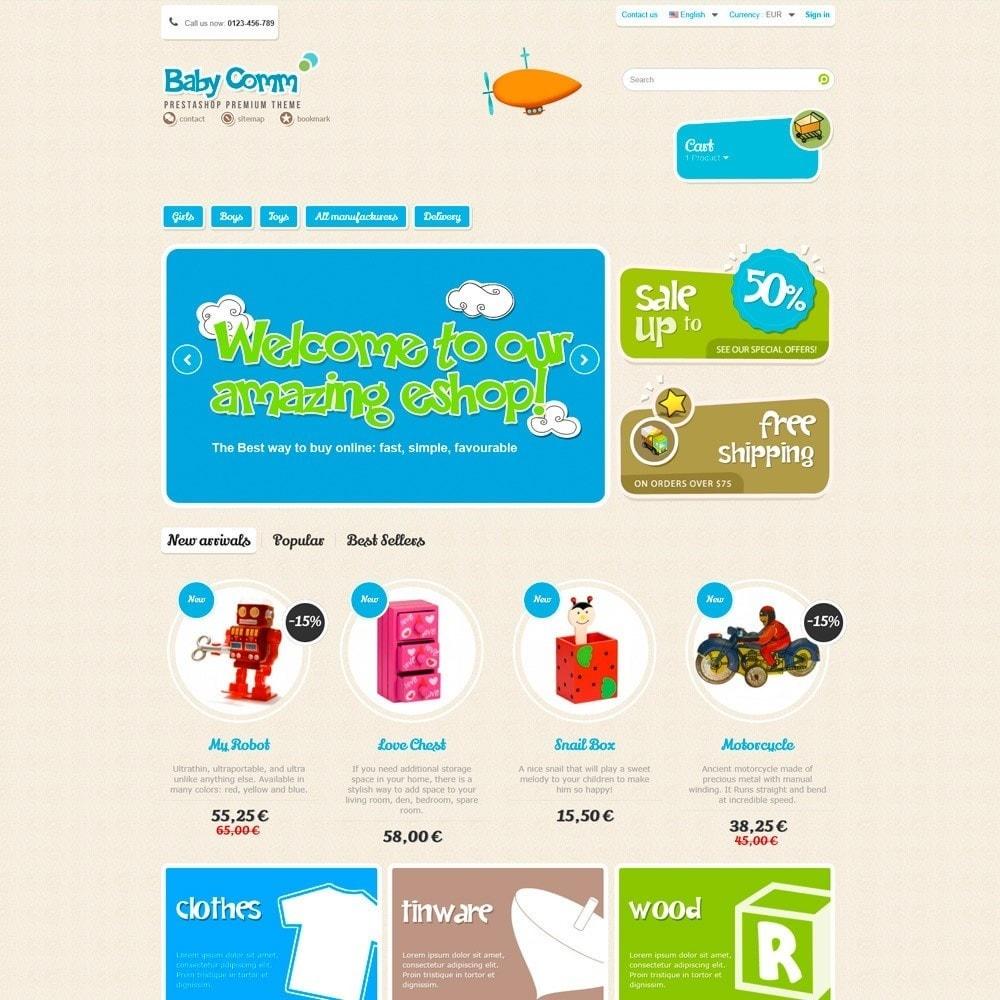 theme - Дети и Игрушки - Baby Comm Responsive - 2