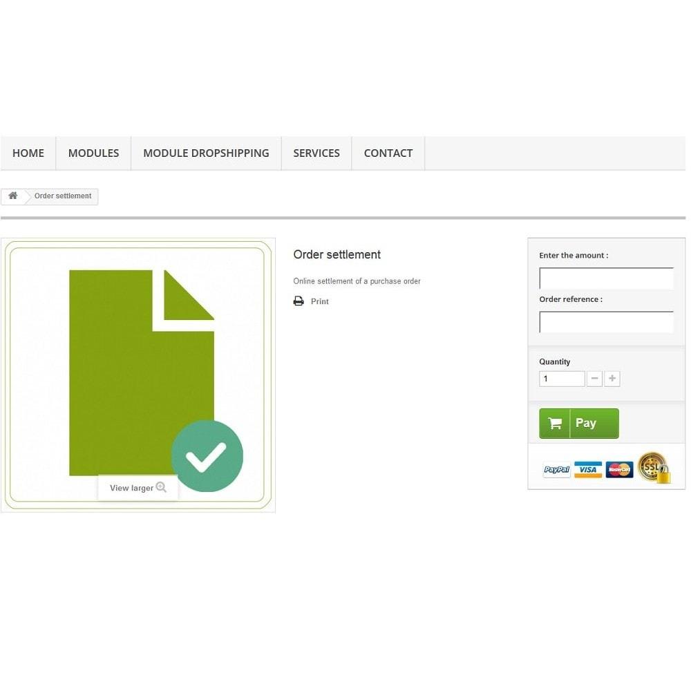 module - Gerenciamento de pedidos - Custom order - 2