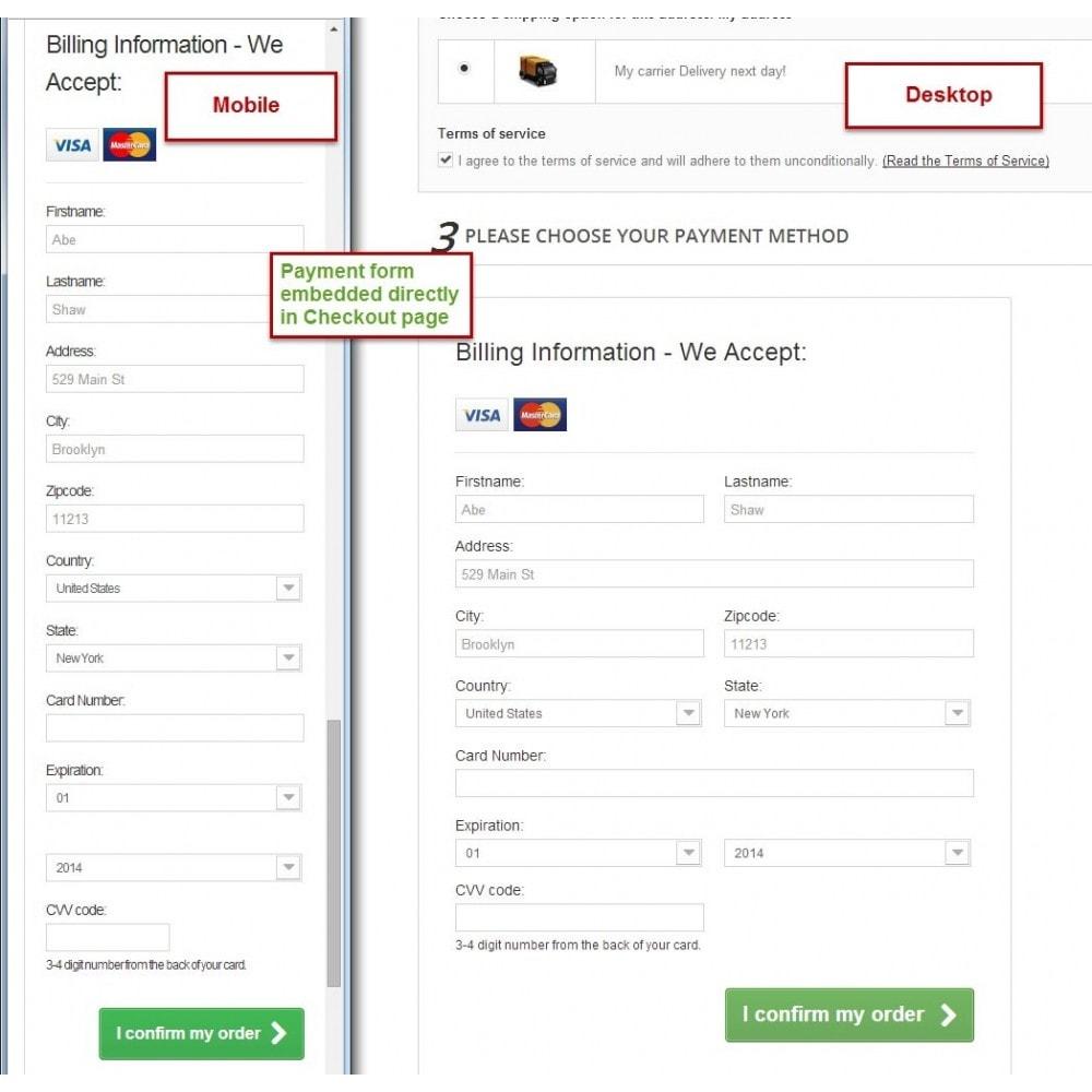 module - Zahlung per Kreditkarte oder Wallet - Offline Credit Card - 1