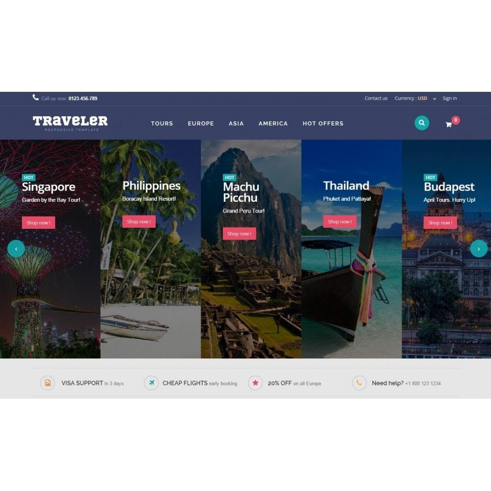 theme - Sports, Activities & Travel - Traveler Prestashop 1.6 Responsive Theme - 3
