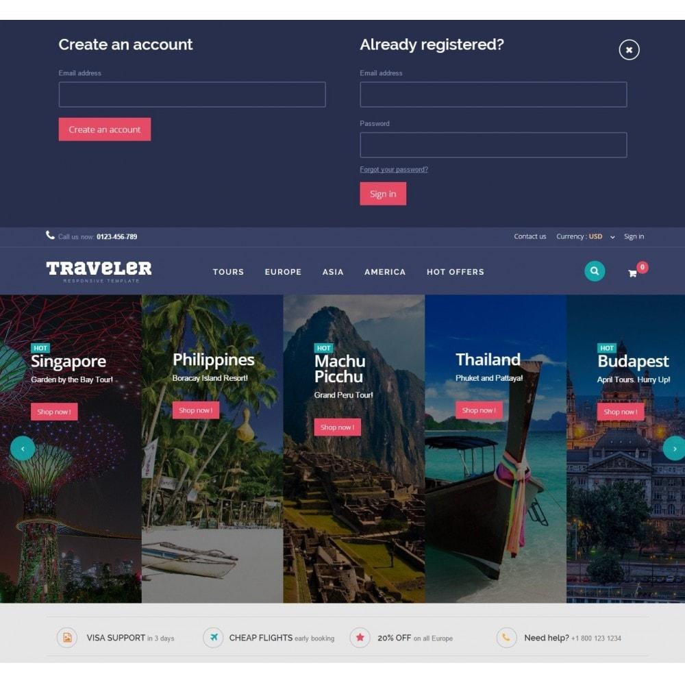 theme - Deportes, Actividades y Viajes - Traveler Prestashop 1.6 Responsive Theme - 5