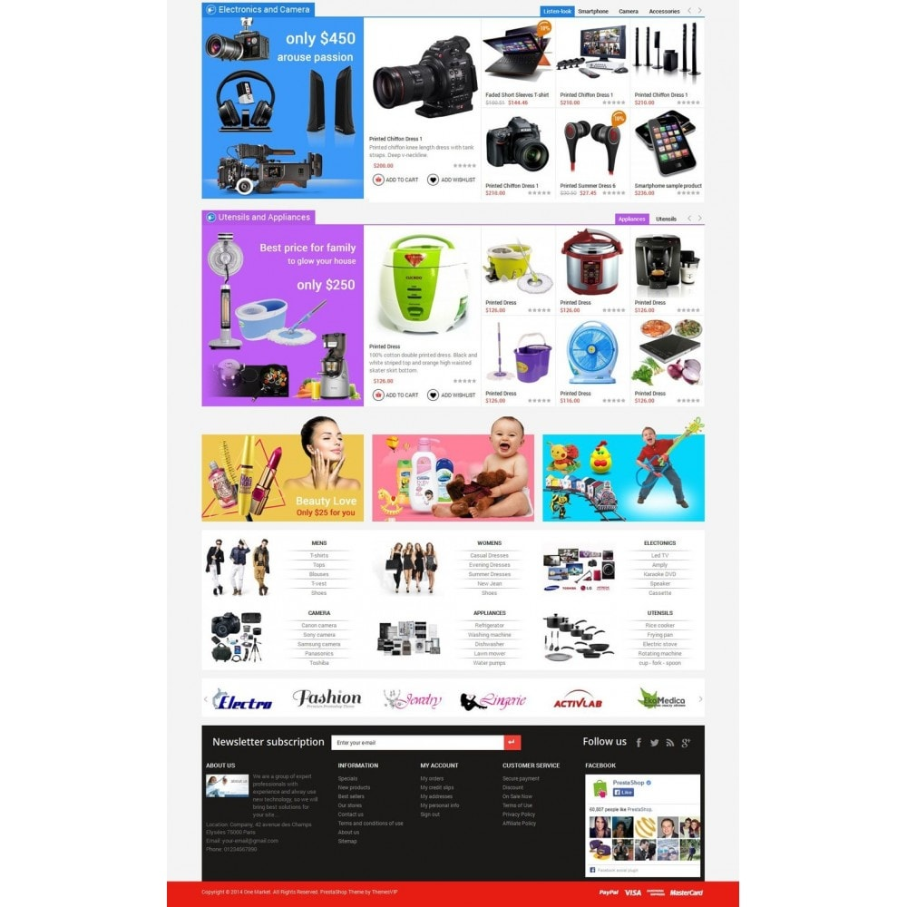 Responsive Best Buy Prestashop Theme