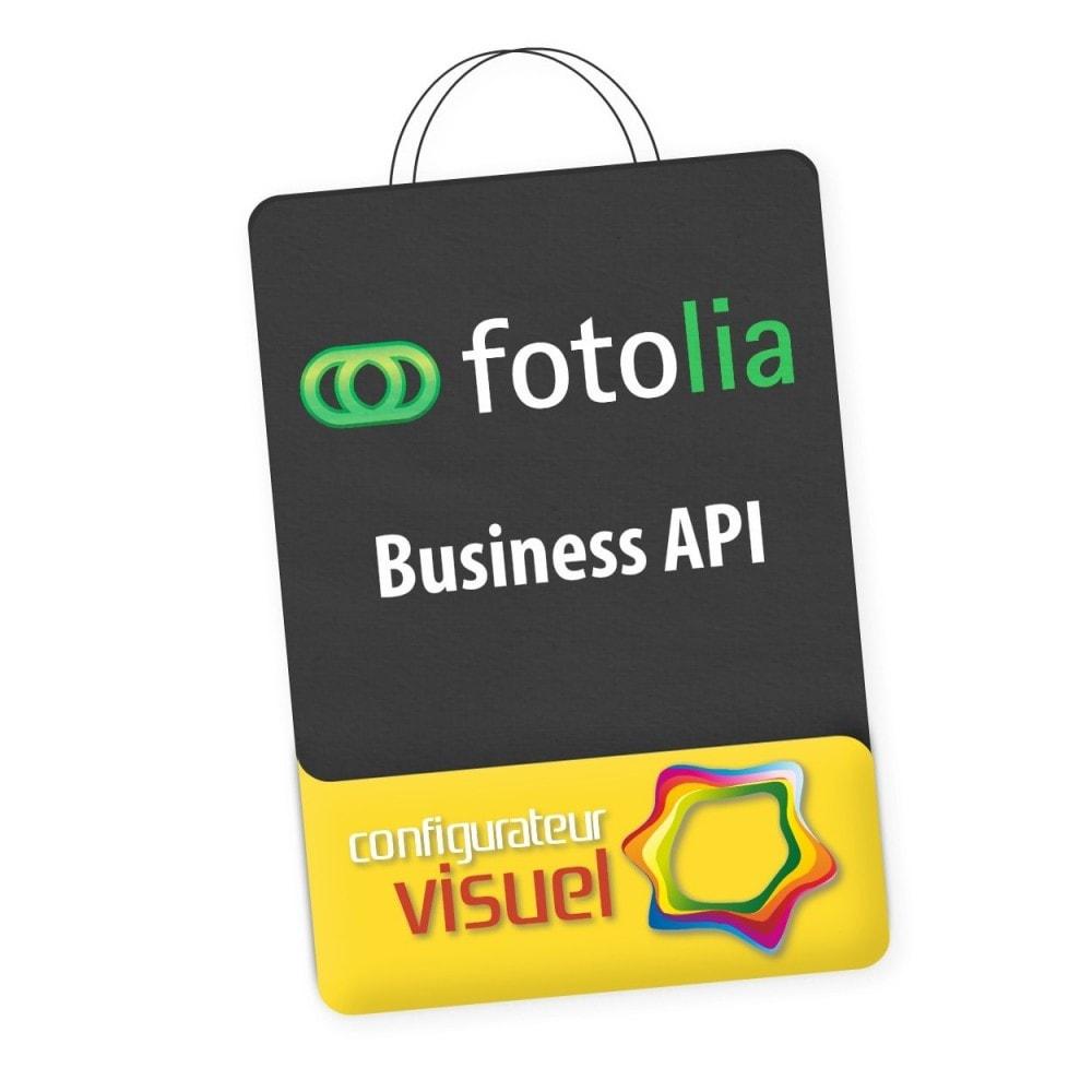 module - Visuels des produits - Fotolia Business API - 1
