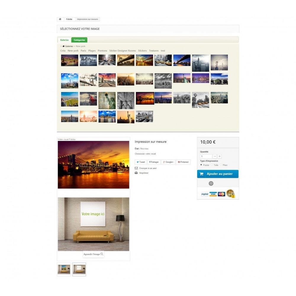 module - Visuels des produits - Fotolia Business API - 4