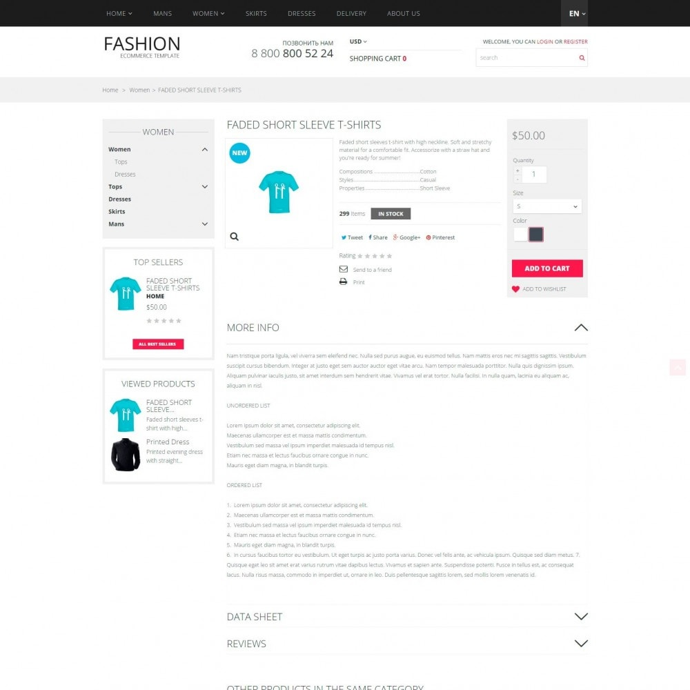 theme - Мода и обувь - Fashion -  Магазин Модной Одежды - 4