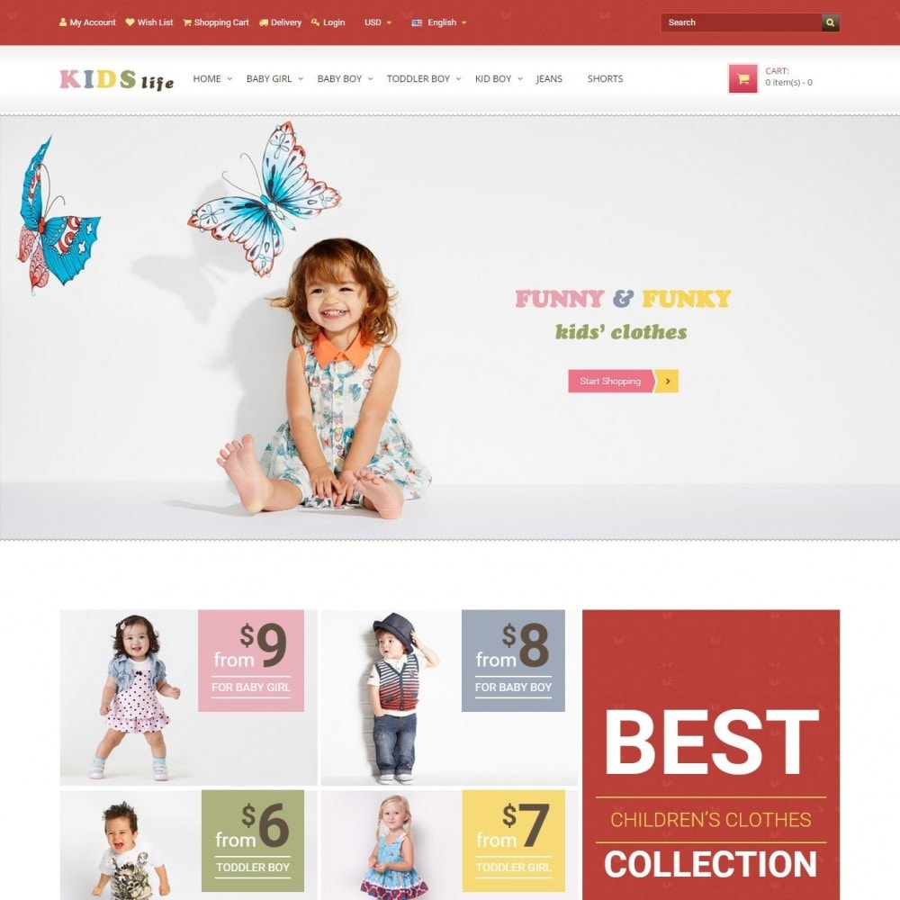 Kids - Children's Clothing Store