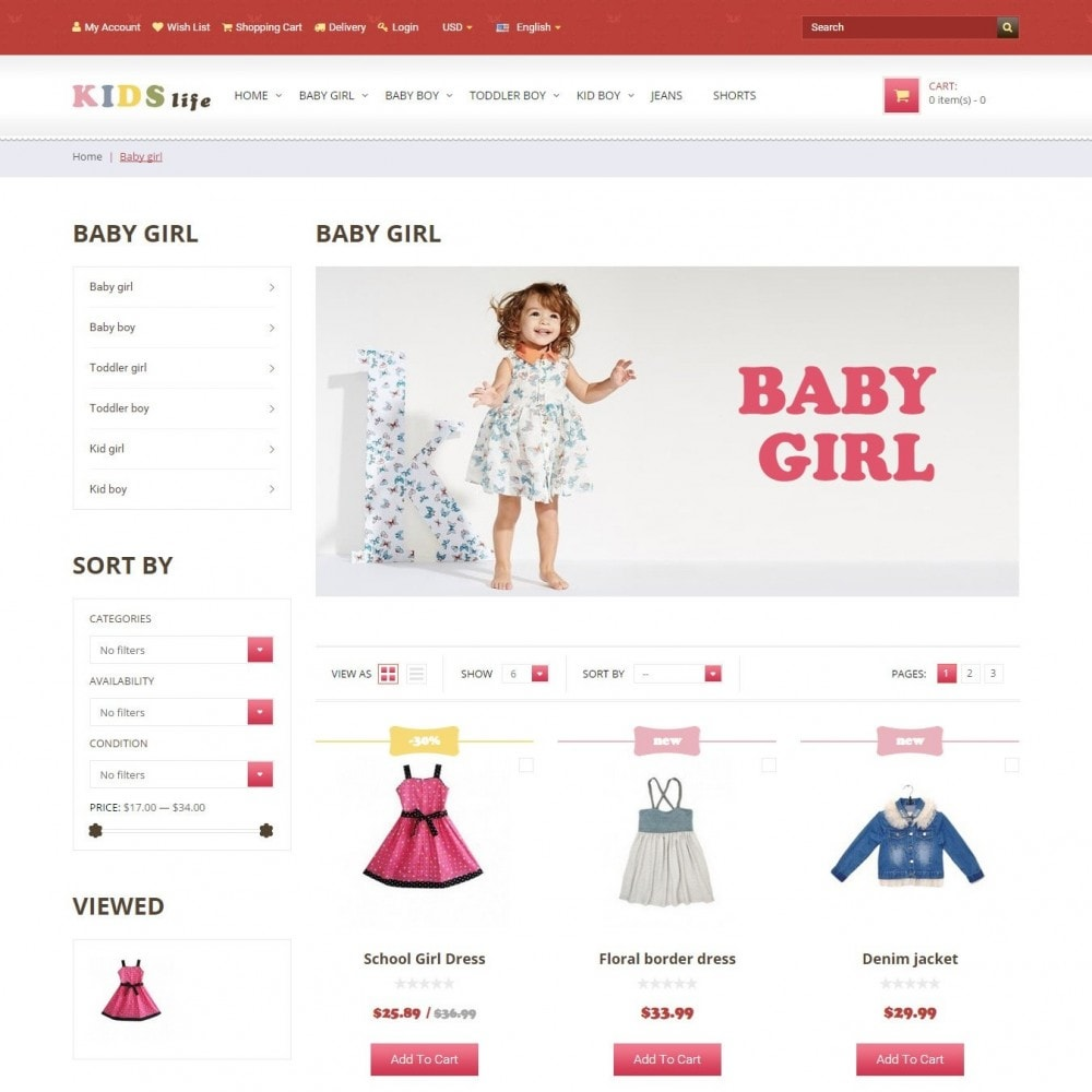 theme - Kids & Toys - Kids - Children's Clothing Store - 2