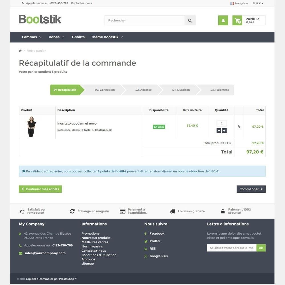 theme - Мода и обувь - Bootstik Responsive Theme - 6