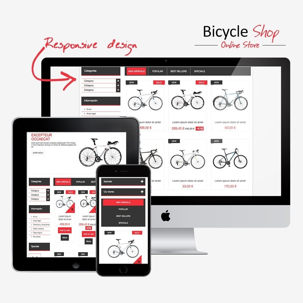 Bicycle Shop Online
