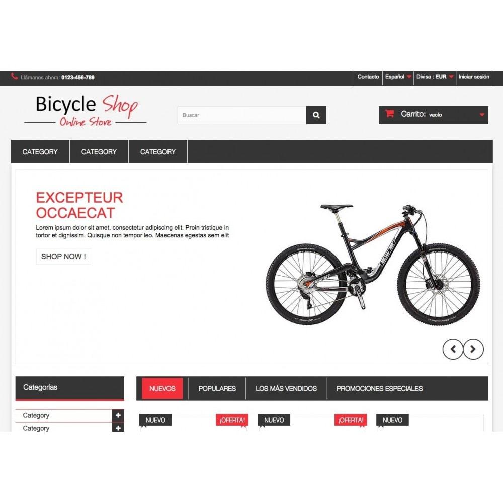theme - Deportes, Actividades y Viajes - Bicycle Shop Online - 3