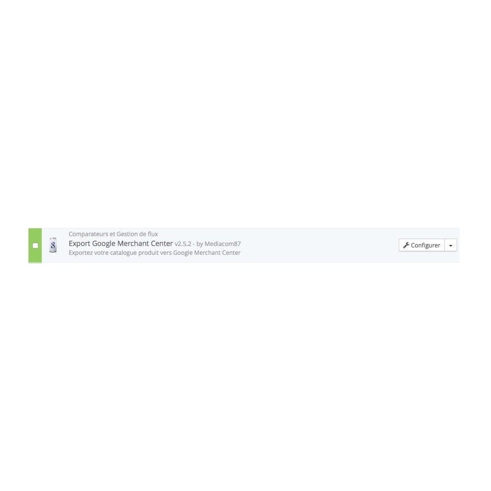 module - Référencement payant (SEA SEM) & Affiliation - Export Google Shopping (Google Merchant Center) - 2