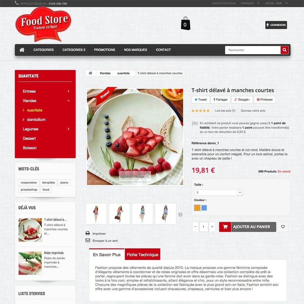 theme - Alimentos & Restaurantes - FoodStore - 2