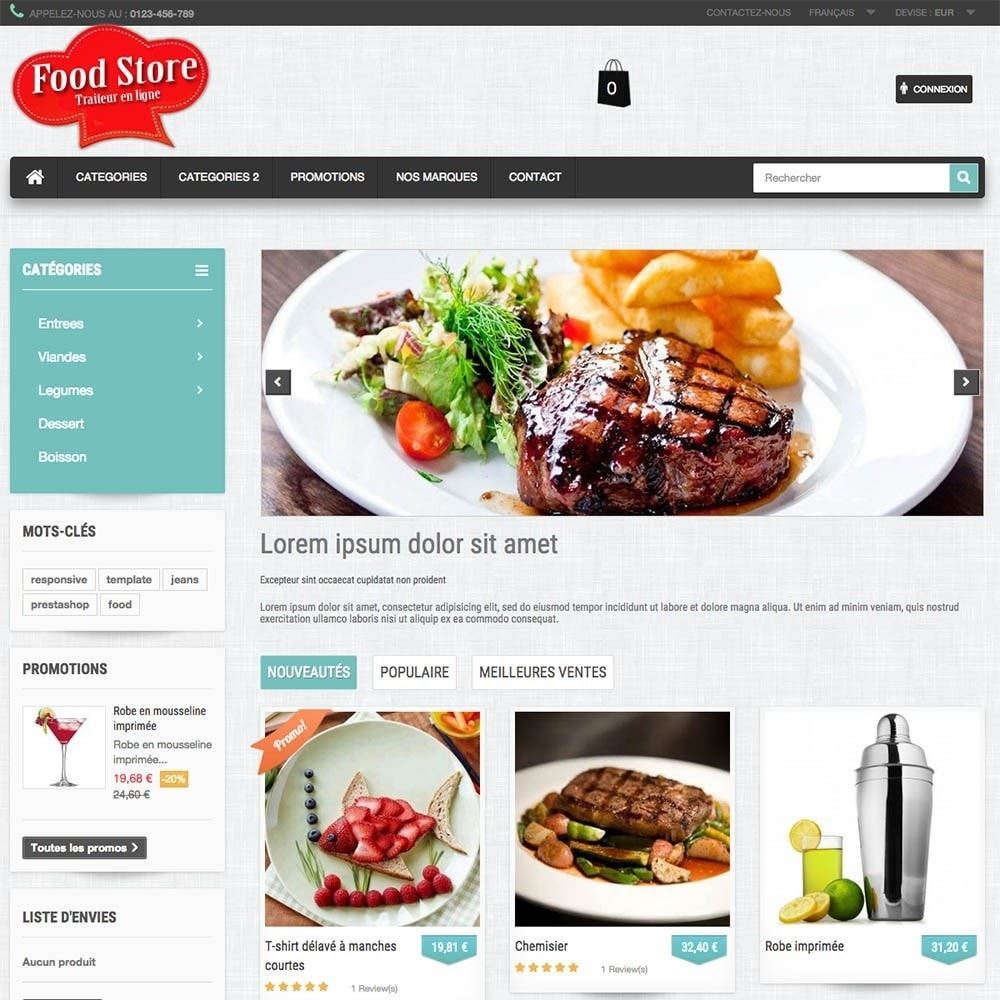 theme - Food & Restaurant - FoodStore - 5