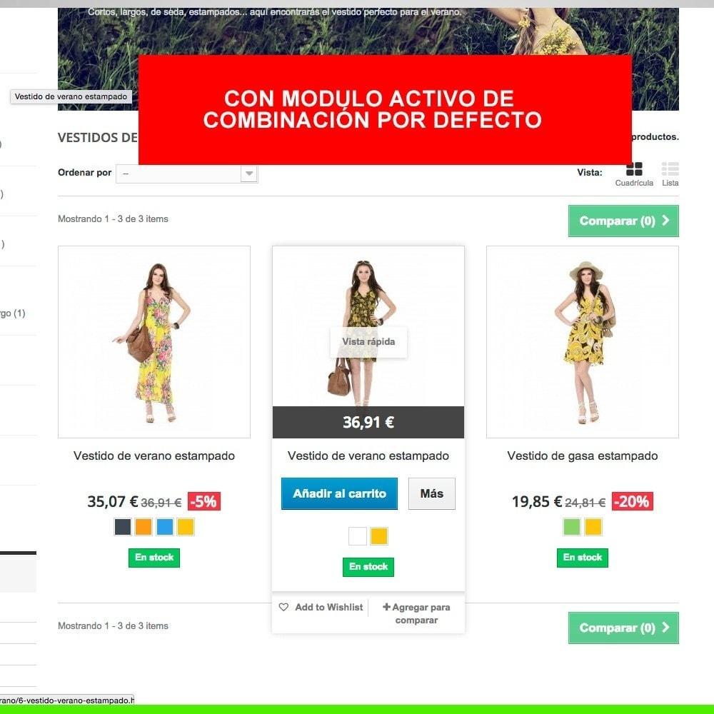module - Combinaciones y Personalización de productos - Combinación por defecto siempre activa - 2