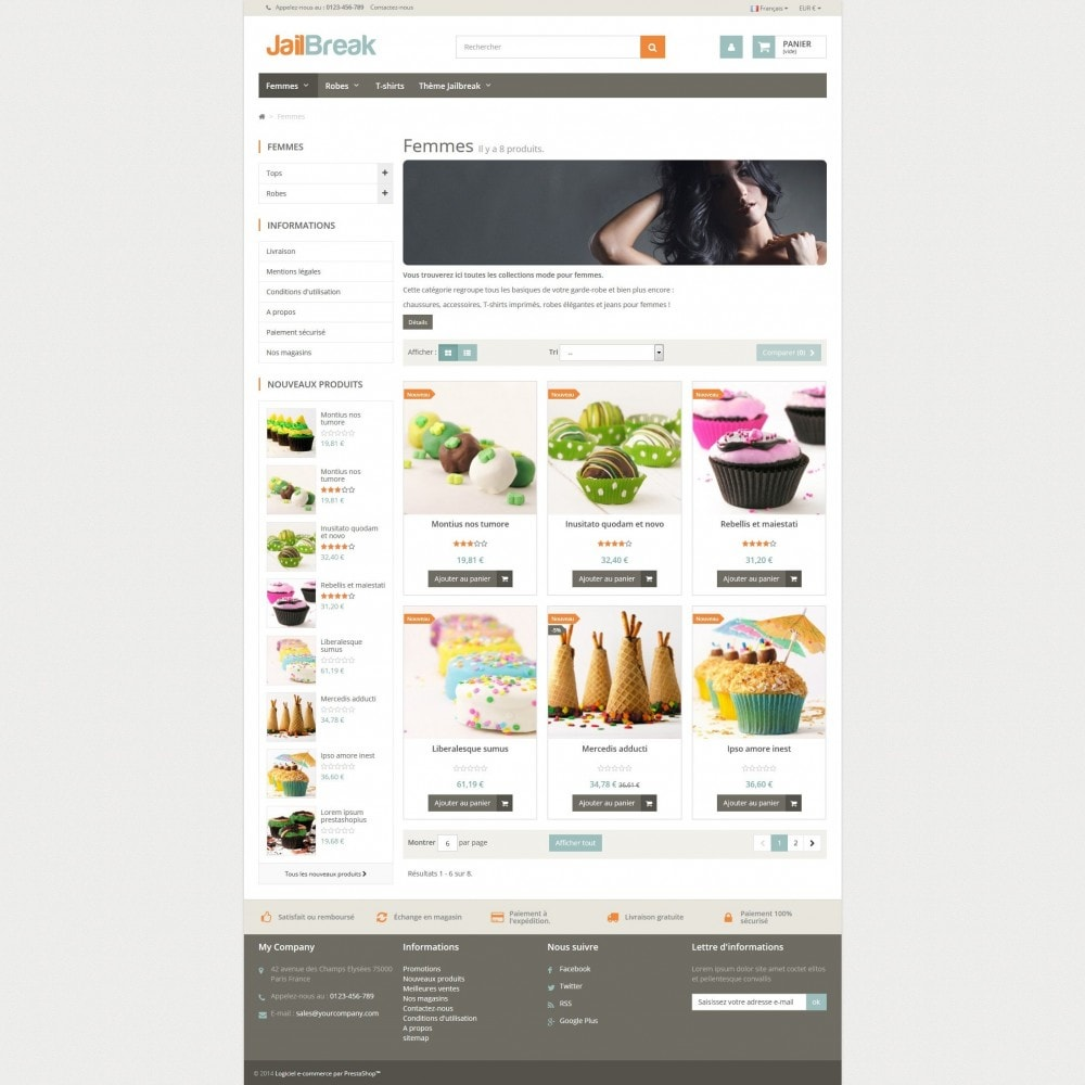 theme - Lebensmittel & Restaurants - Jailbreak Responsive - 3