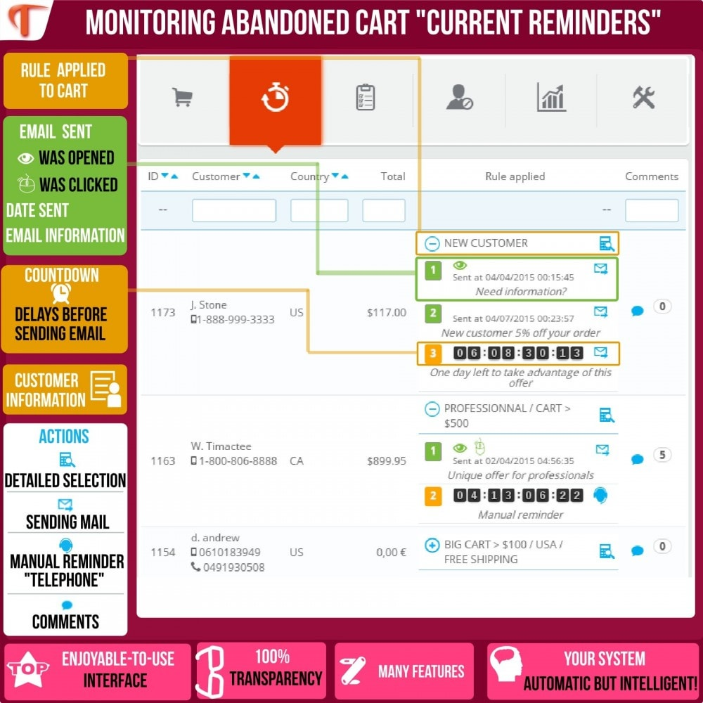 module - Remarketing y Carritos abandonados - Smart Cart Reminder - 4