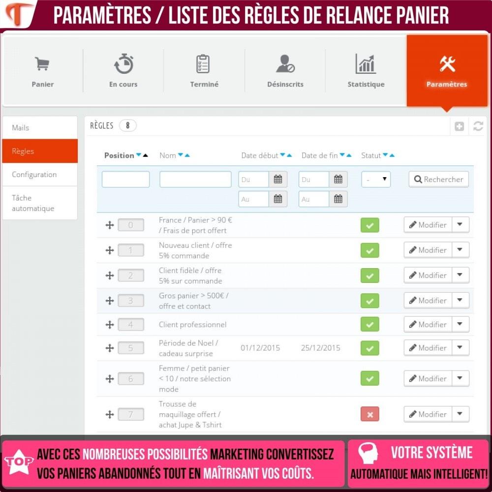 module - Remarketing & Paniers Abandonnés - Smart Cart Reminder / Relance Panier Intelligent - 20