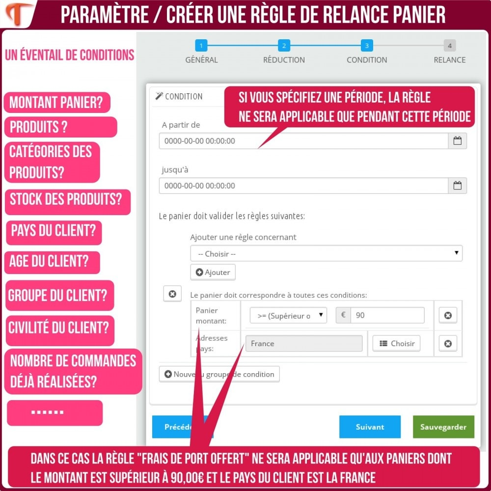 module - Remarketing & Paniers Abandonnés - Smart Cart Reminder / Relance Panier Intelligent - 23