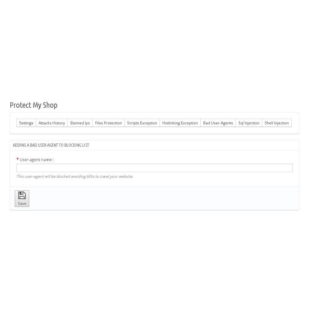 module - Sécurité & Accès - Protect My Shop / Protéger Ma Boutique - 8