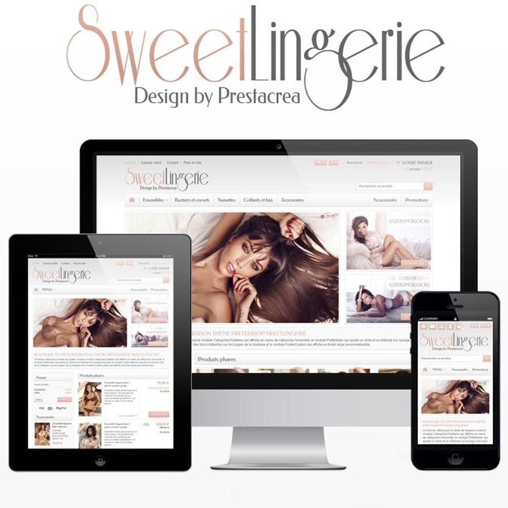 theme - Lingerie & Adult - SweetLingerie - 1
