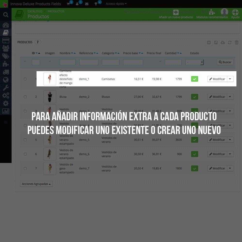 module - Informaciones adicionales y Pestañas - Pestaña con información extra en ficha de producto - 4