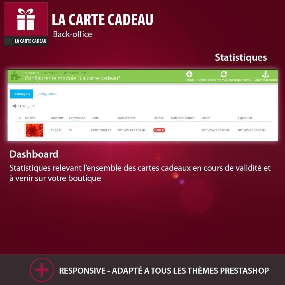 module - Liste de souhaits & Carte cadeau - La Carte Cadeau - 4