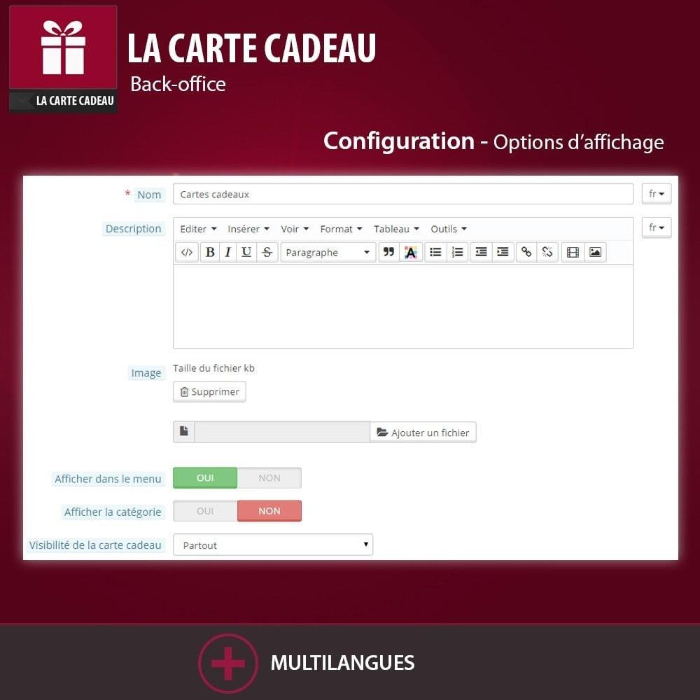 module - Liste de souhaits & Carte cadeau - La Carte Cadeau - 5