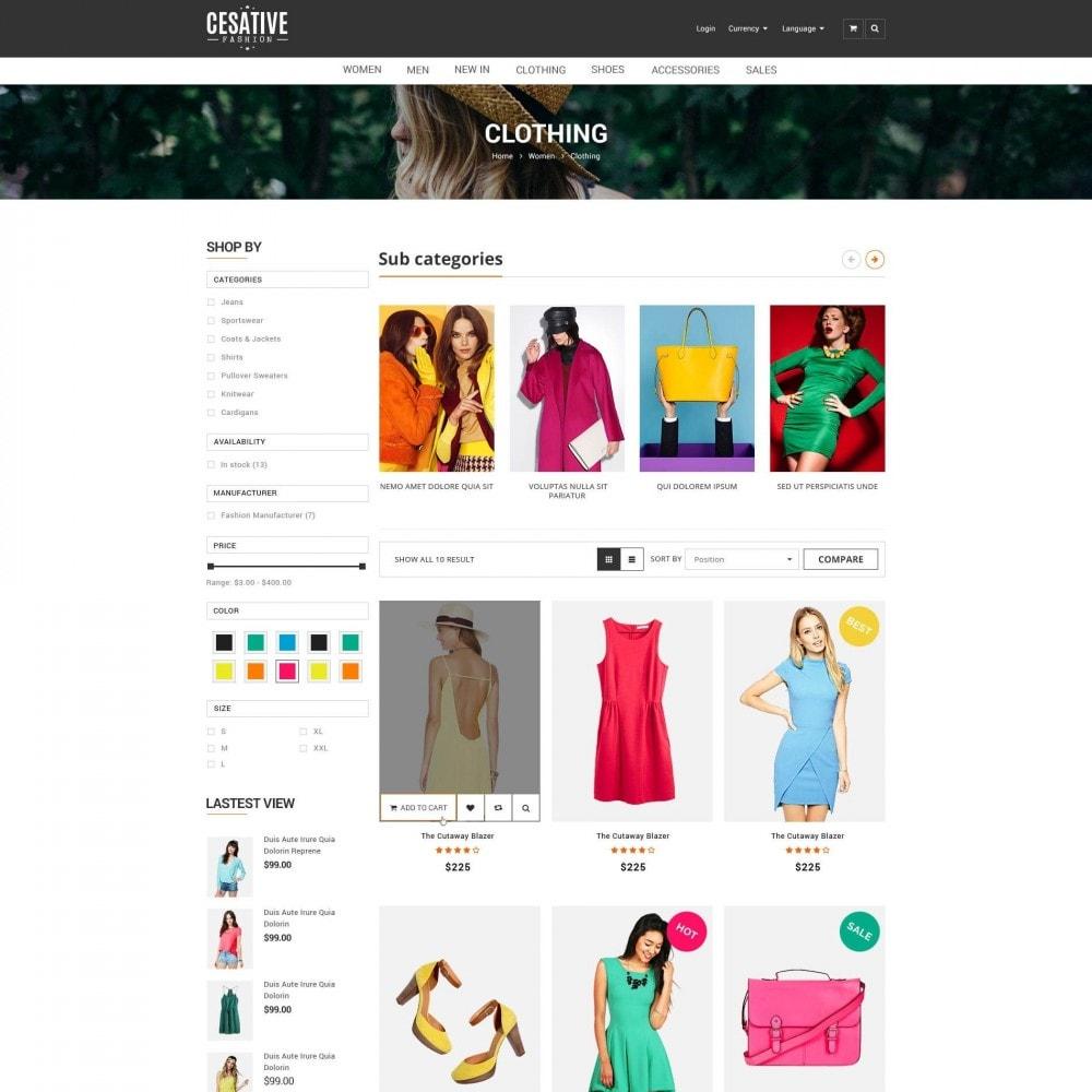 theme - Moda & Calçados - ET Cesative - New Model Fashion Responsive Prestashop - 2