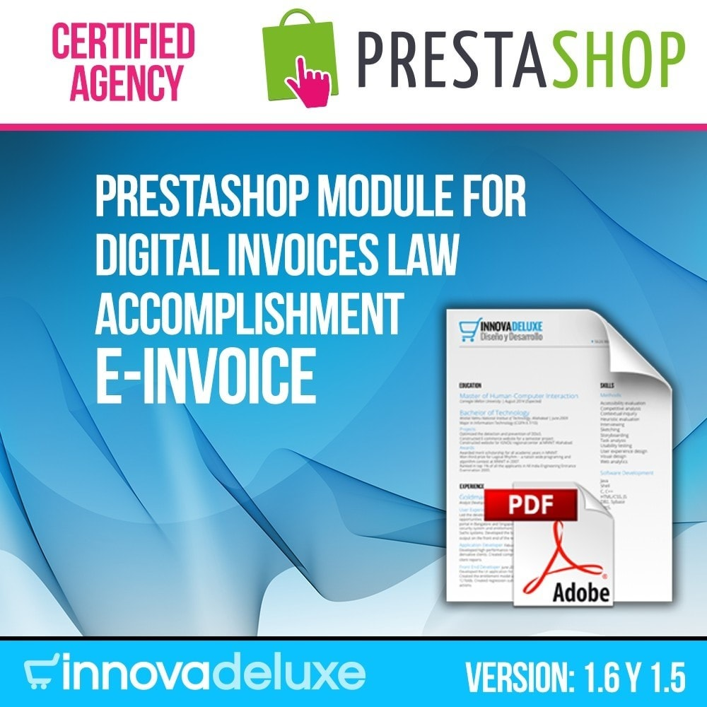 module - Boekhouding en fakturatie - Digital Invoice (trade regulations compliance) - 1