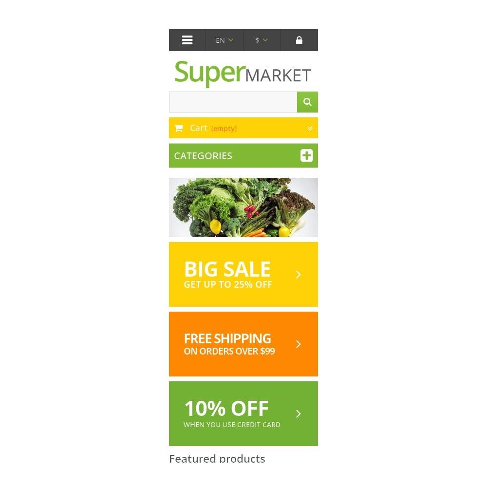 theme - Продовольствие и рестораны - Responsive Supermarket - 6