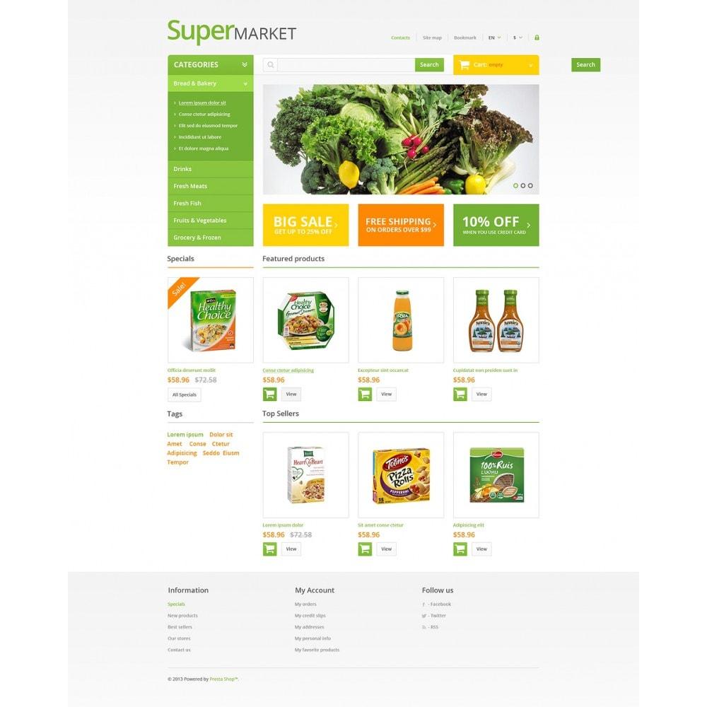 theme - Food & Restaurant - Responsive Supermarket - 8