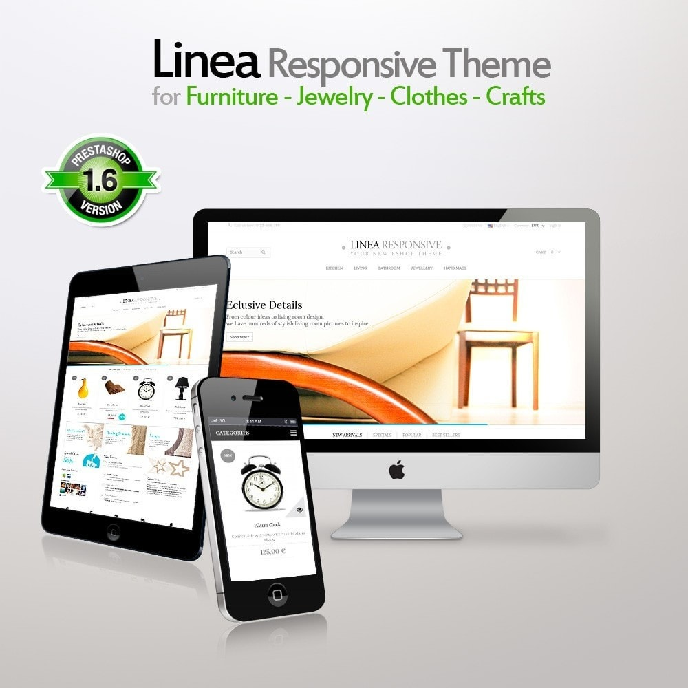 Linea for Furniture - Jewelry - Clothes - Crafts