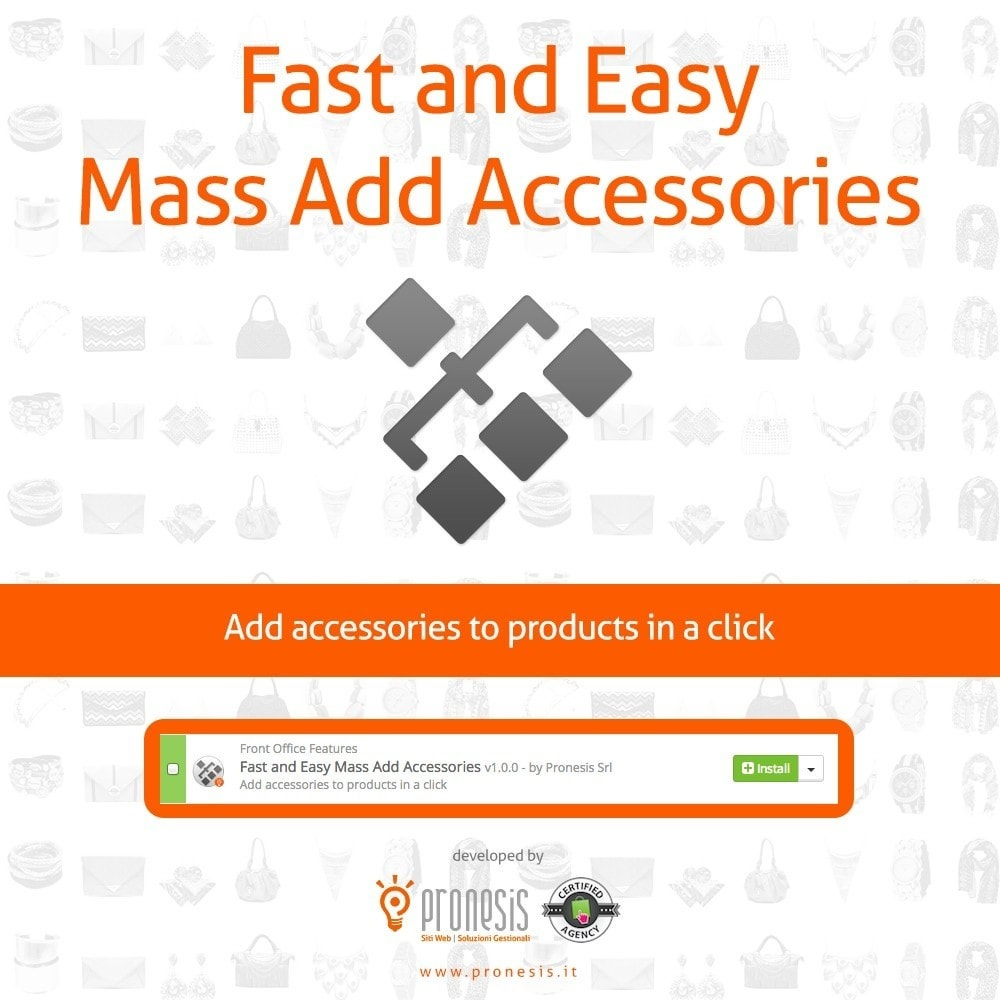 module - Edition rapide & Edition de masse - Fast and Easy Mass Add Accessories - 1
